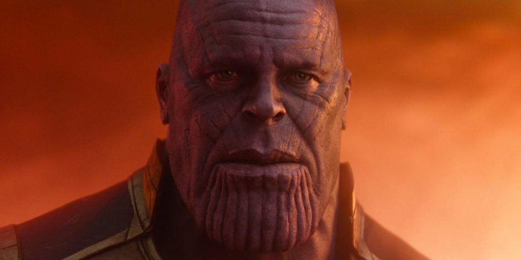 Infinity War Thanos Snap