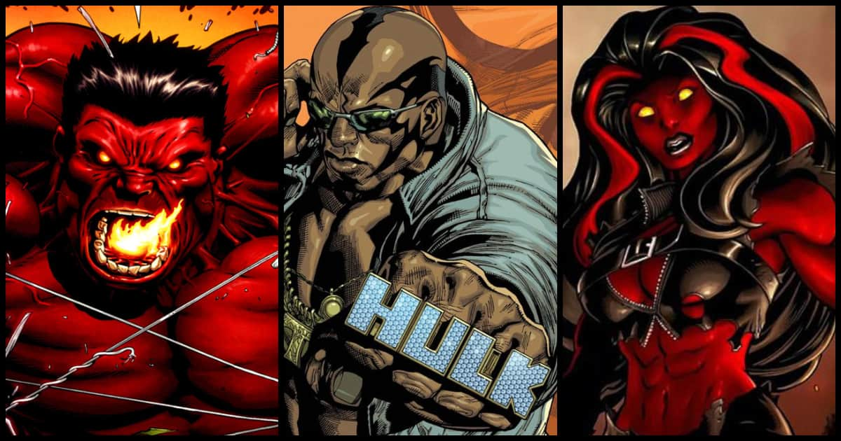 Photo of 11 Alternate Versions of Hulk Too Weak To Carry The Hulk Name