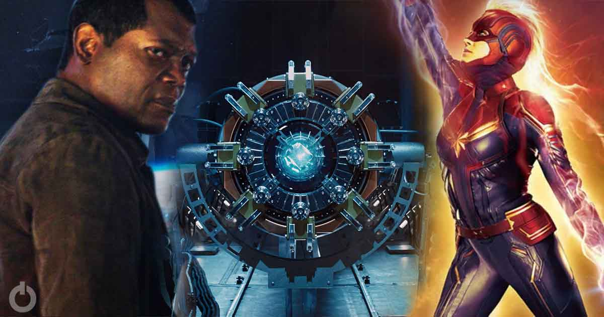 Photo of Samuel L. Jackson Teases the Tesseract will Appear in Captain Marvel