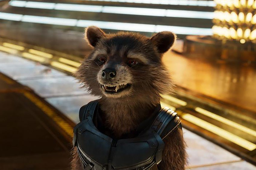 Guardians of the Galaxy Vol. 2 Rocket Raccoon
