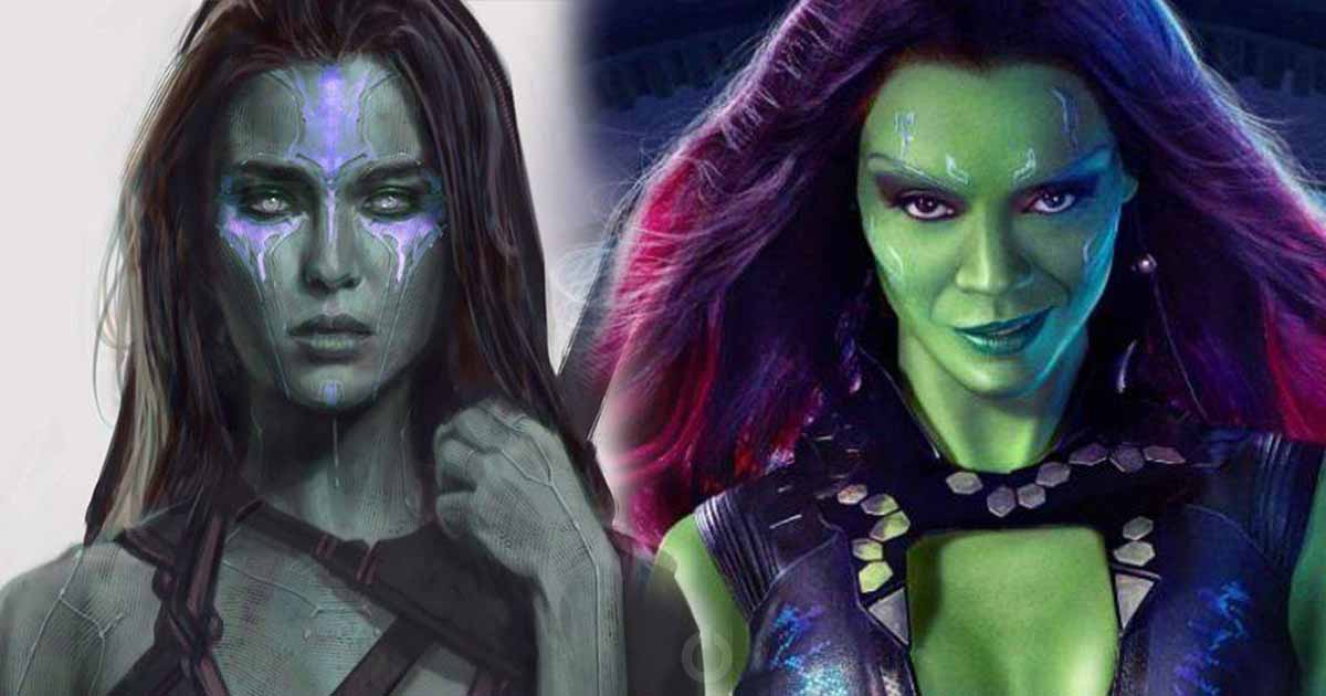 Photo of 'Guardians of the Galaxy' Early Concept Art Reveals Alternate Look of Gamora