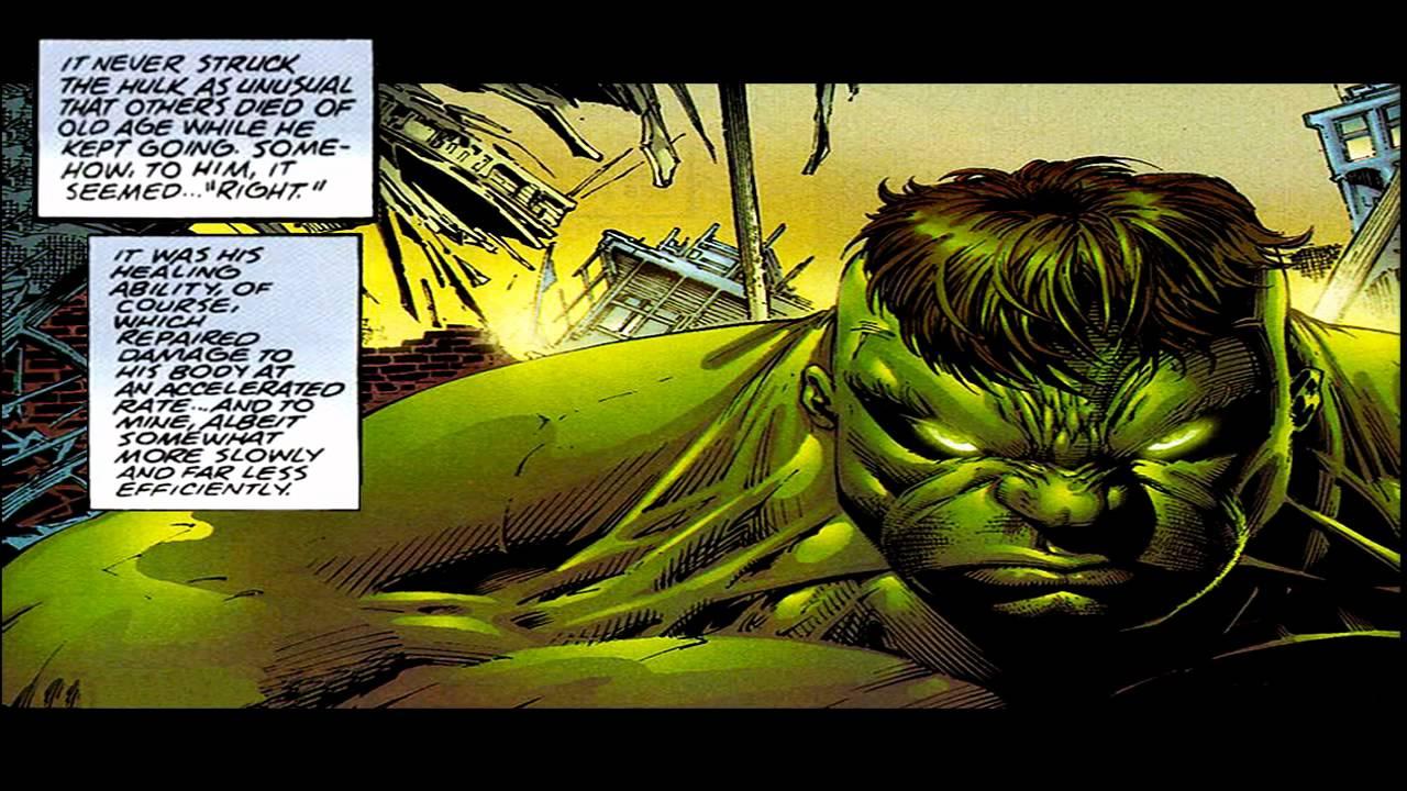 Physically Strongest Hulks
