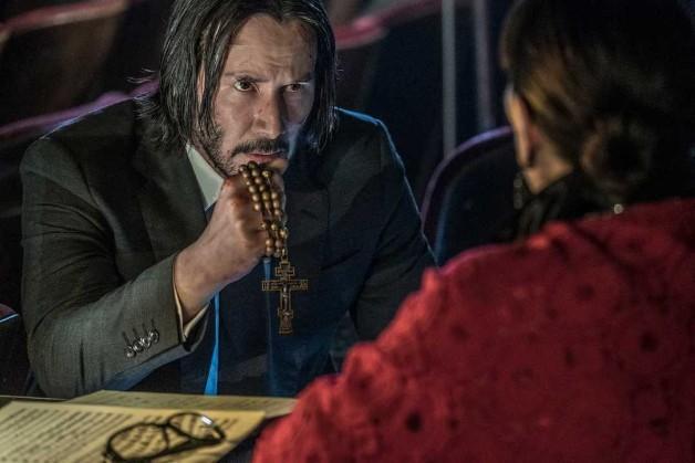 Keanu Reeves Captain Marvel John Wick 3