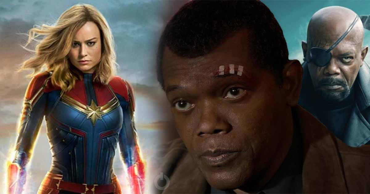 Photo of New 'Captain Marvel' Clip Shows Nick Fury's Life Story in a Minute