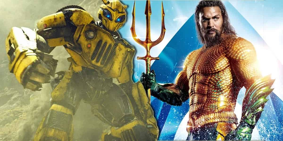 Bumblebee Aquaman International Box Office