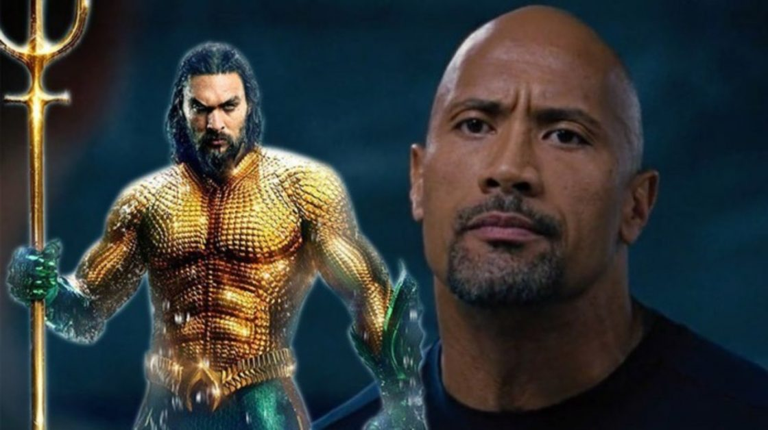 Fast & Furious Aquaman Jason Momoa Dwayne Johsnon The Rock