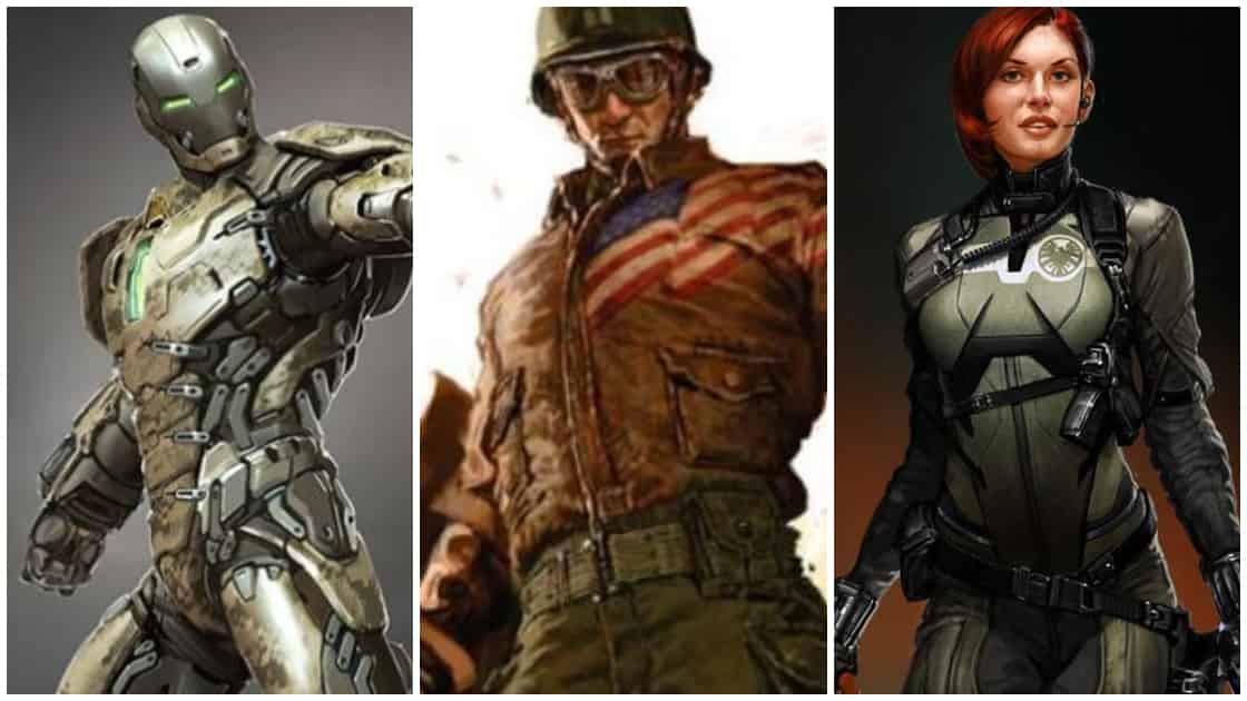 Marvel Superhero Concept Arts