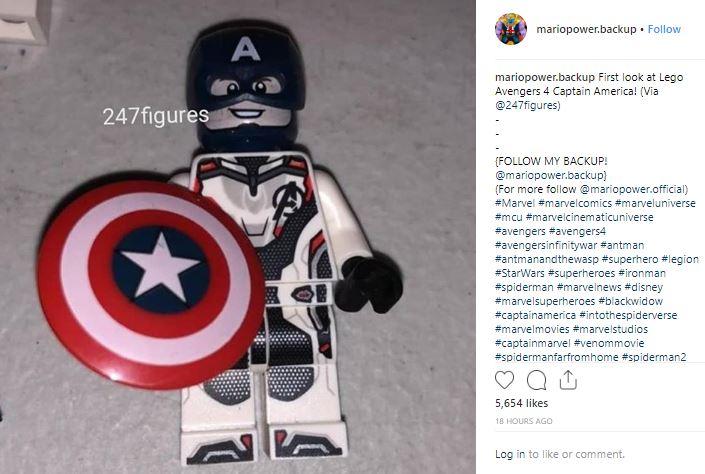 Avengers: Endgame Captain America Quantum Realm Suit