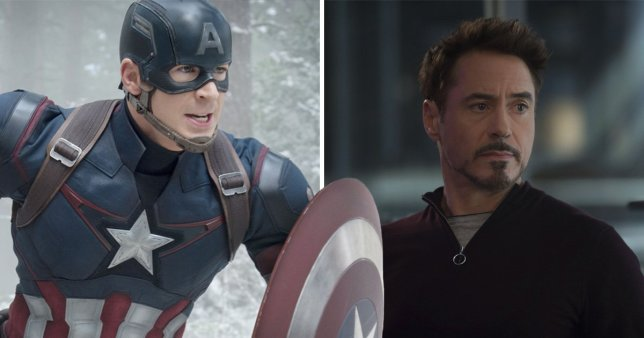 Robert Downey Jr. Chris Evans MCU