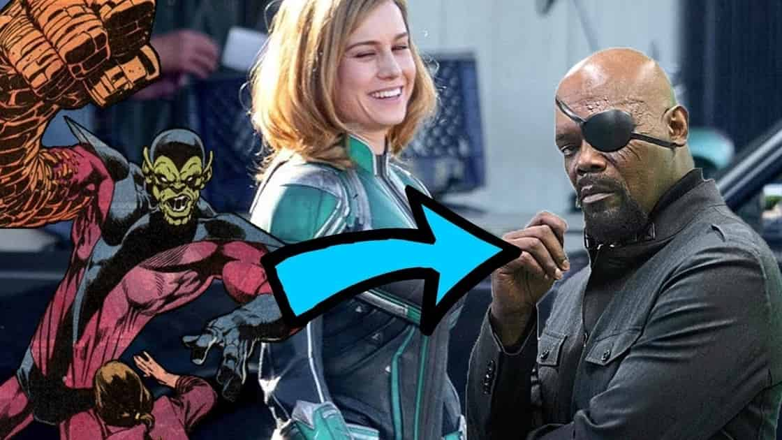 Photo of Captain Marvel – A Major Spoiler About Nick Fury Has Been Revealed