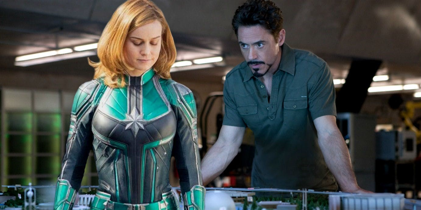 Photo of The Connection Between Captain Marvel And Iron Man 2 Has Been Revealed