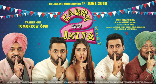 Carry On Jatta 2 Full Movie Download 720P