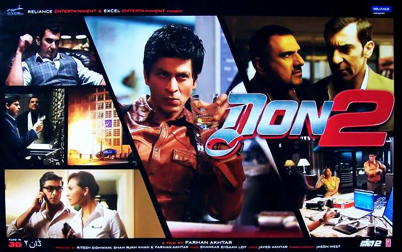 Don 2 2011 Full Movie 720P Download