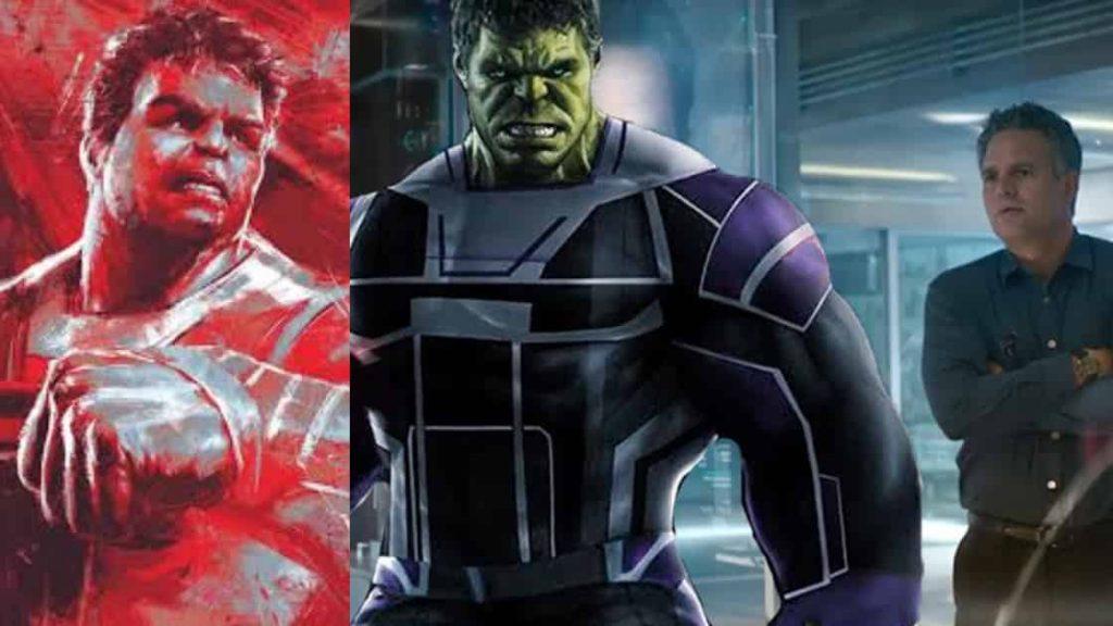 Avengers: Endgame Red Hulk