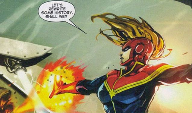 Captain Marvel Set Photo