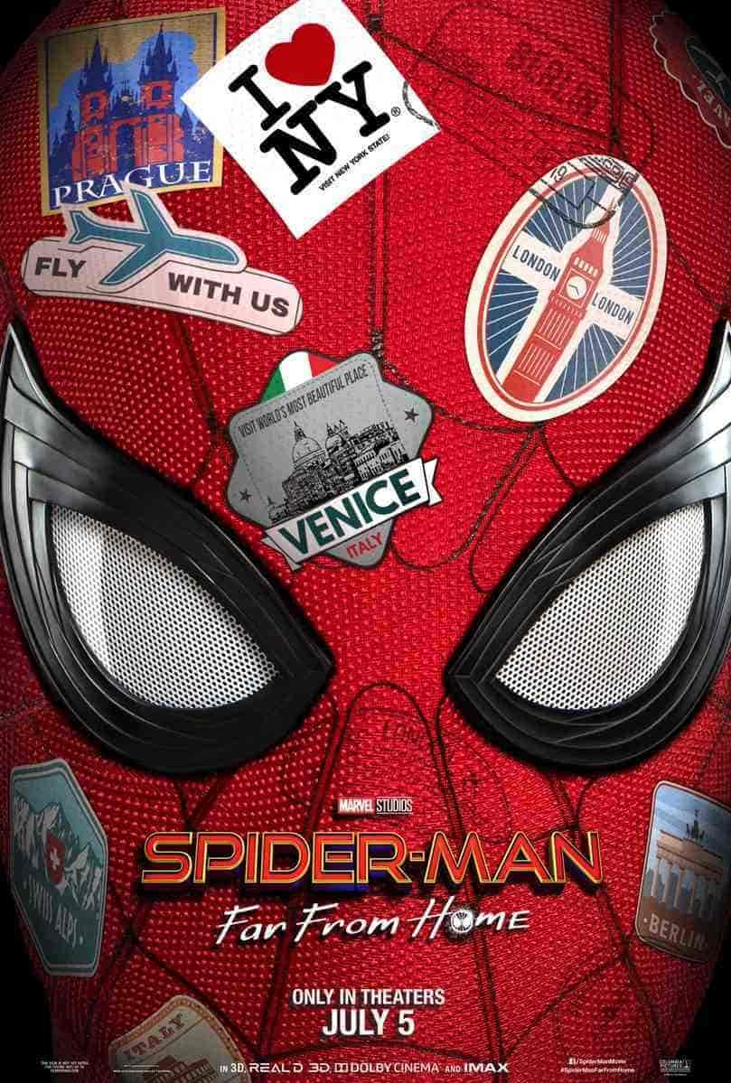 Spider-Man: Far From Home New Poster