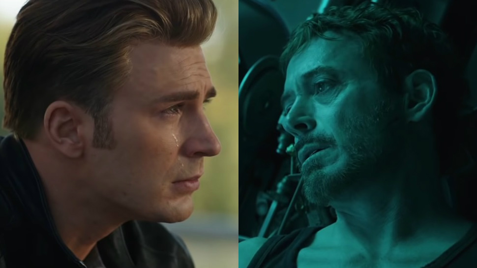 Avengers: Endgame Iron Man Captain America Quantum Realm Suits