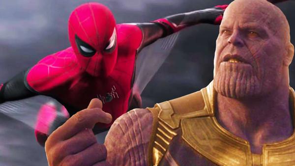 Infinity War Thanos Spider-Man
