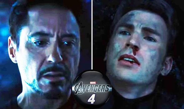 Avengers: Endgame Iron Man Captain America