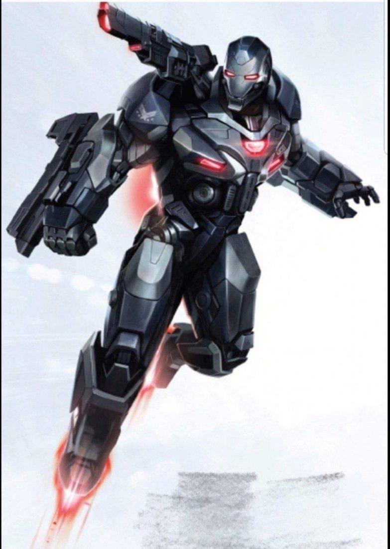 Avengers: Endgame War Machine War Destroyer