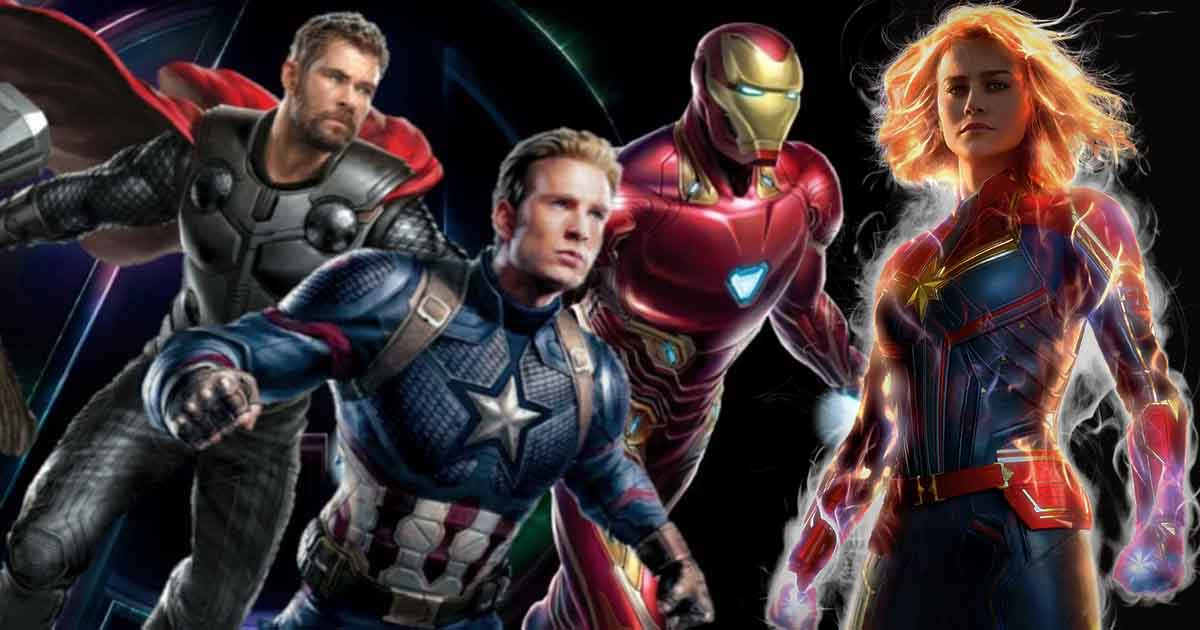 Photo of Captain America, Iron Man & Thor Appear in a New 'Captain Marvel' TV Spot