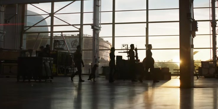 Avengers: Endgame TV Spot Shadow Identified