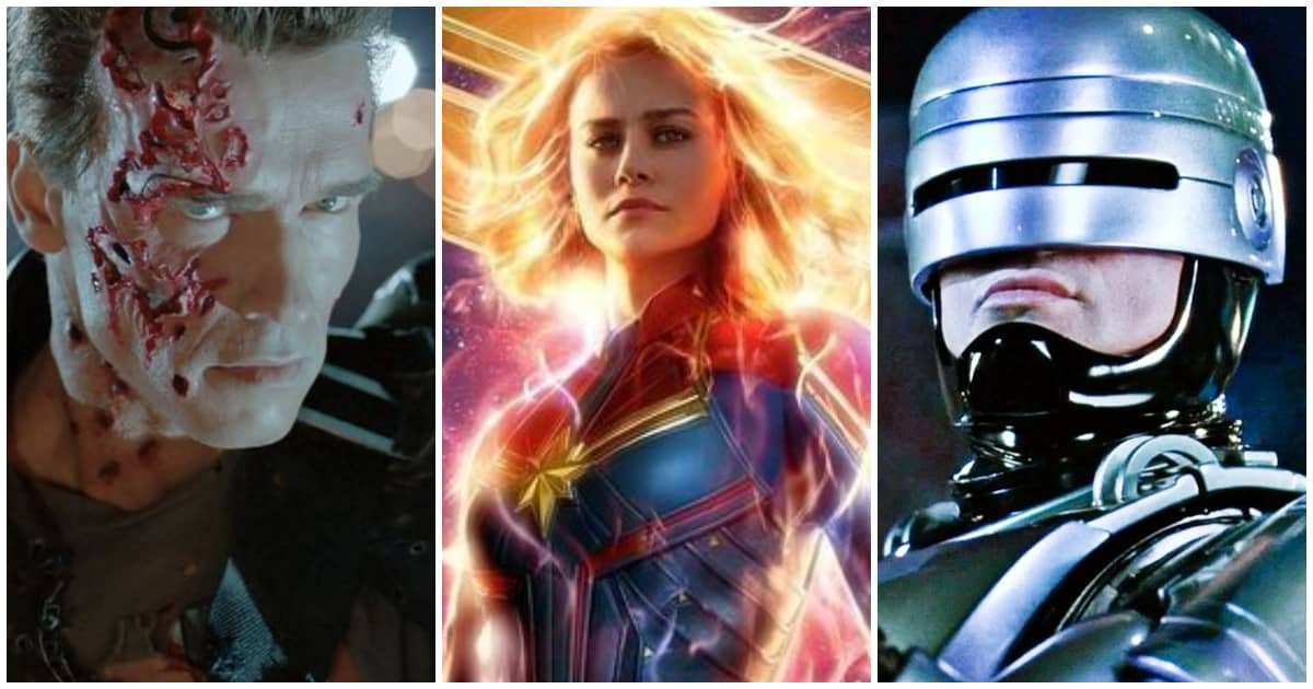 'Captain Marvel' Will Make You Feel Like You're Watching 'Terminator 2' or 'Robocop'