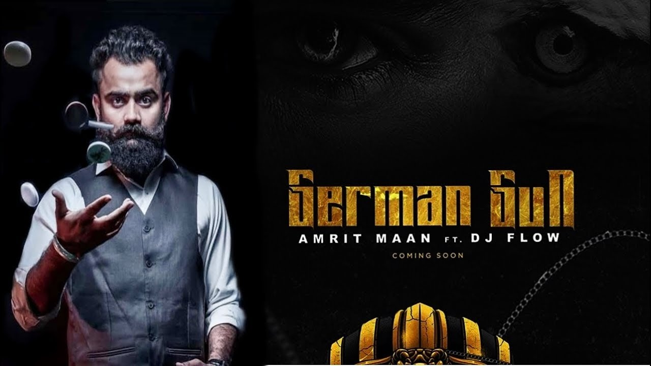 Photo of German Gun Amrit Maan Mp3 Download | DJ Flow | Speed Records