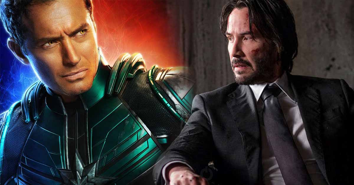 Photo of Keanu Reeves Reportedly Turned Down Captain Marvel Role For John Wick 3