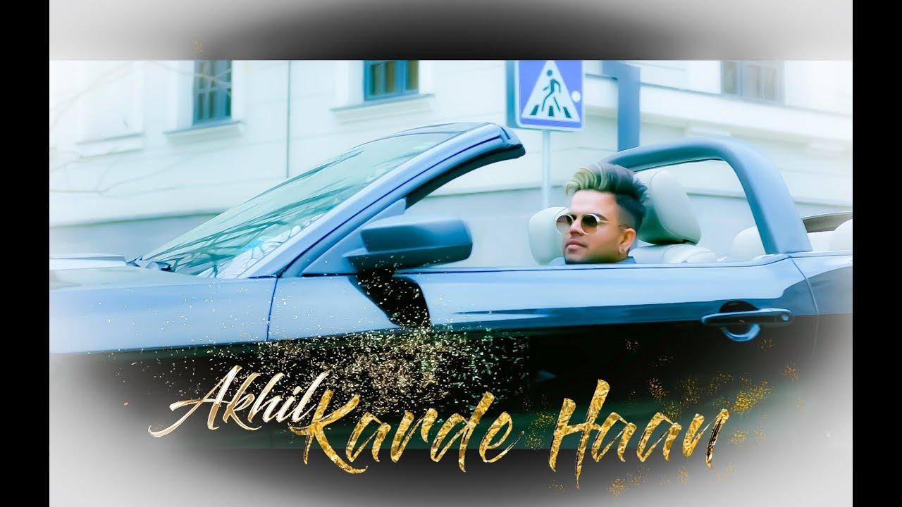 Karde Haan Akhil Mp3 Song Download