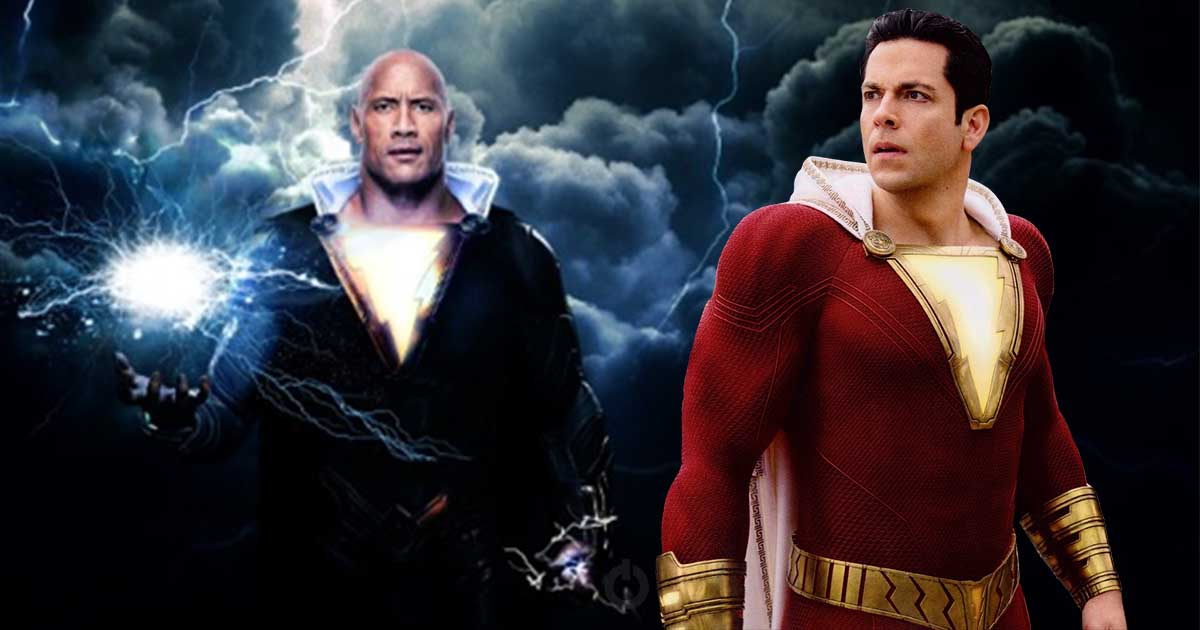 Black Adam Release Date for Shazam 2 & The Flash