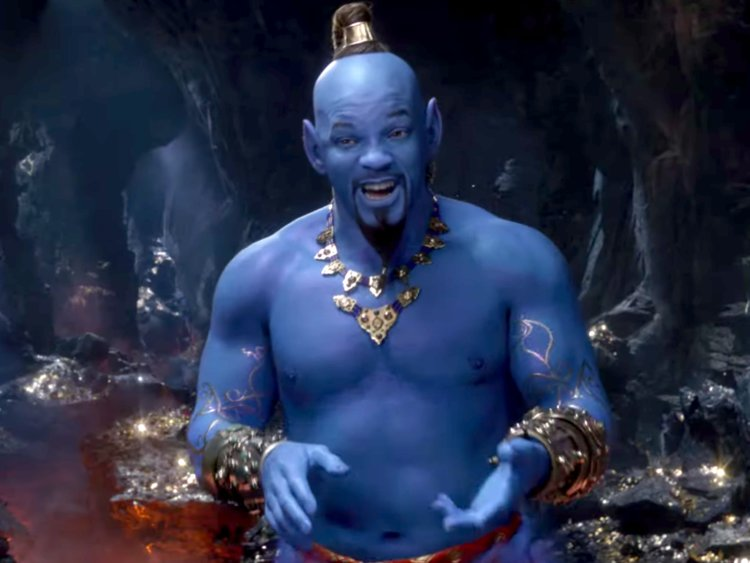Aladdin Trailer Genie Will Smith