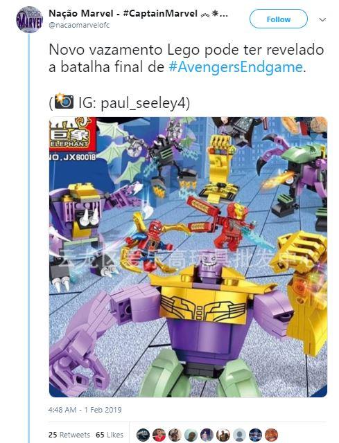 Avengers: Endgame LEGO