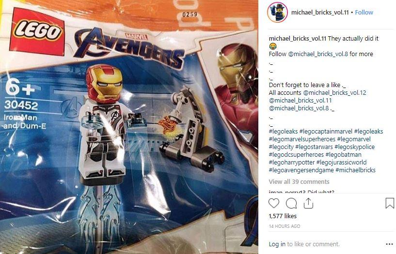Avengers: Endgame LEGO Iron Man