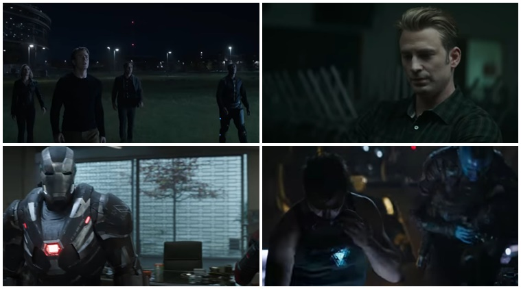 Avengers: Endgame Super Bowl TV Spot Quantum Realm Suits