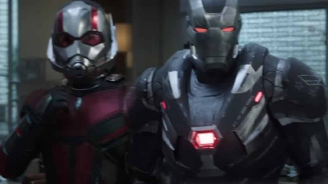 Avengers: Endgame War Machine Suits