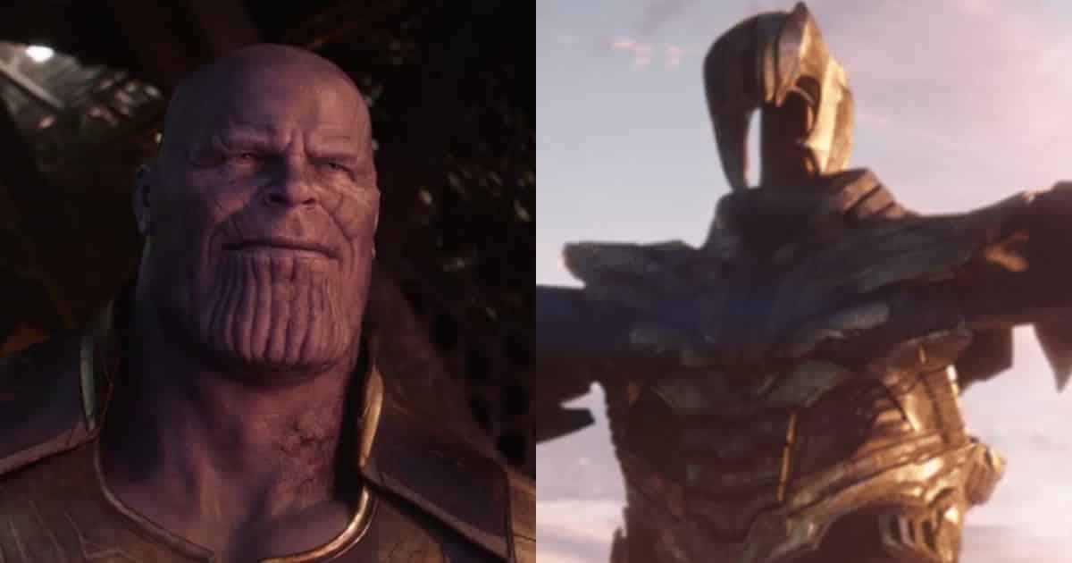 Avengers: Endgame TV Spot Thanos Infinity War