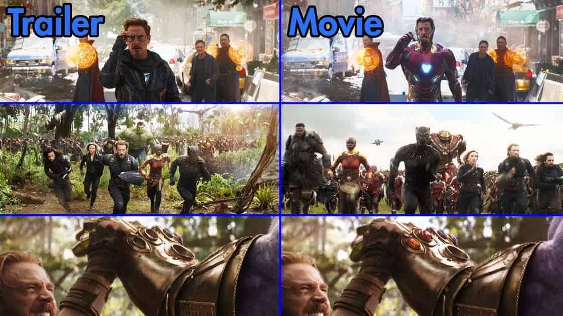 Photo of Every Time Marvel Drastically Edited Their Trailers to Mislead Fans