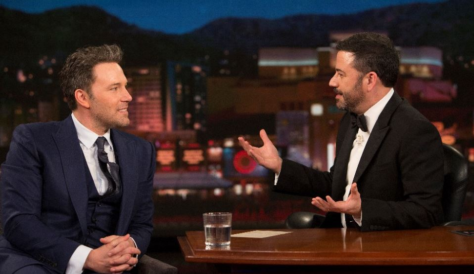 Ben Affleck Batman Jimmy Kimmel Live