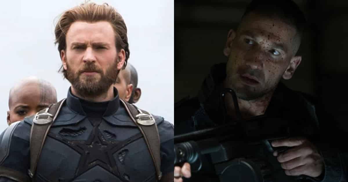 Captain America vs The Punisher
