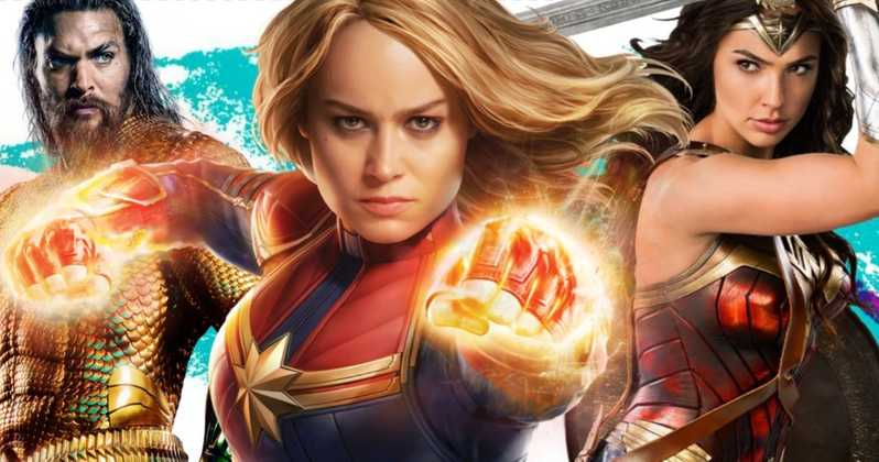 Photo of Captain Marvel Crosses Wonder Woman & Aquaman in Pre Ticket Sales