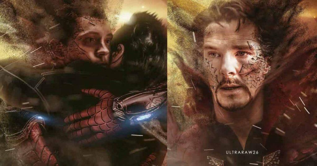 Avengers: Infinity War Dusting Scenes