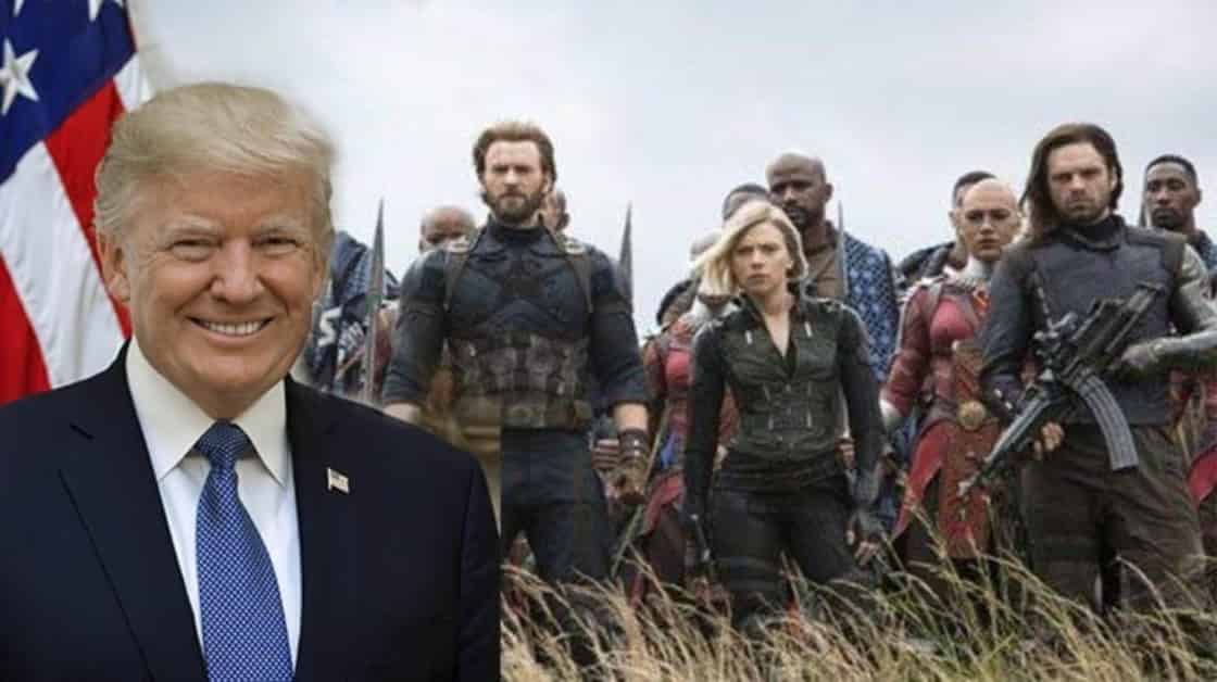 Donald Trump Marvel Cinematic Universe