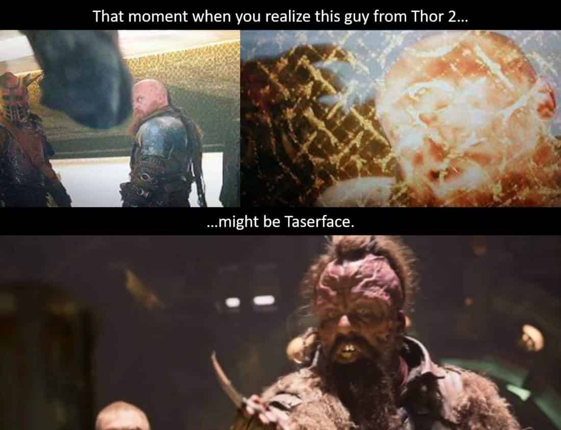 Guardians of the Galaxy Vol 2 Taserface Thor 2