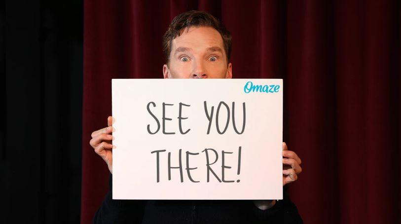 Avengers: Endgame Benedict Cumberbatch Omaze