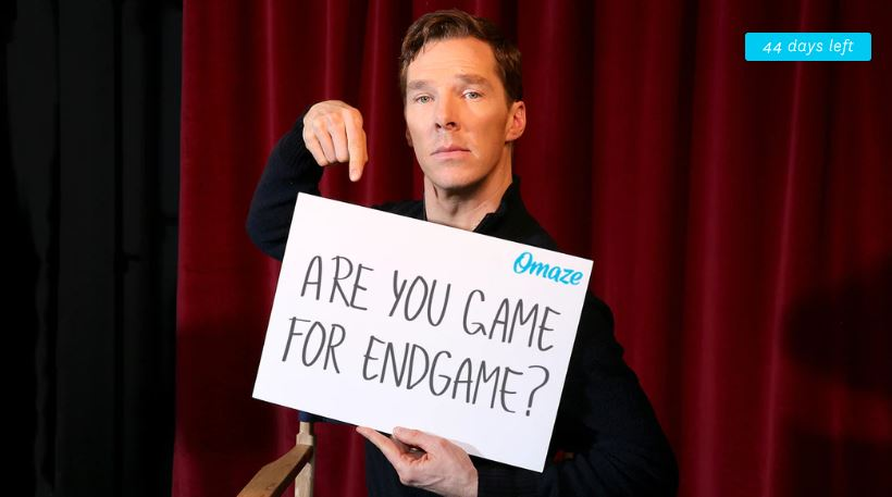 Photo of Benedict Cumberbatch Teams Up With Omaze For Interesting Avengers: Endgame Contest