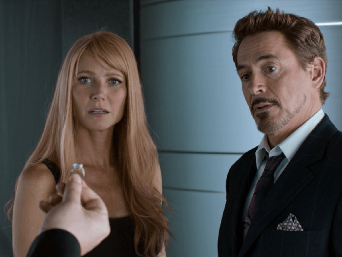 Gwyneth Paltrow Robert Downey Jr.