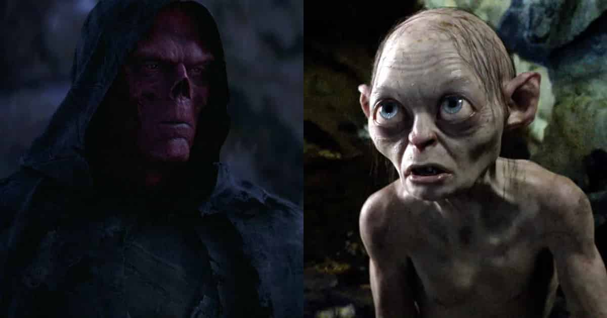 Photo of Early Avengers: Infinity War Concept Art Gave Red Skull a Gollum Design