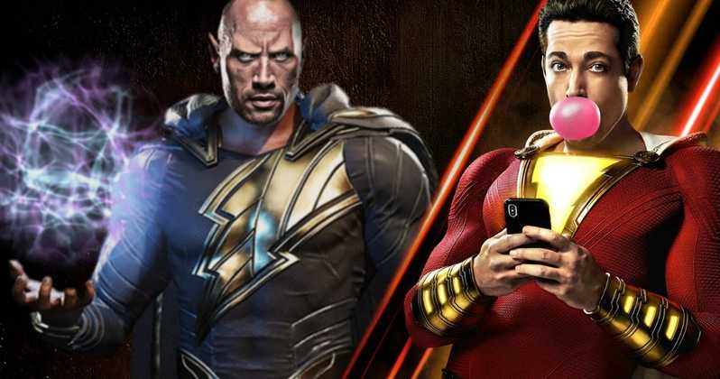 Shazam! Black Adam Dwayne Johnson