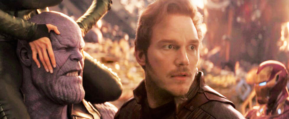 Avengers: Infinity War Star-Lord Chris Pratt